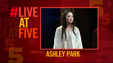 Broadway.com #LiveatFive with The King and I's Ashley Park