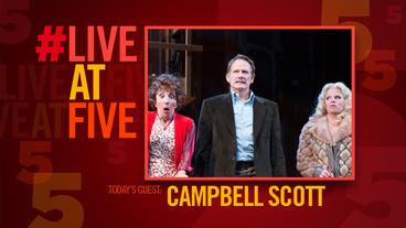 Broadway.com #LiveatFive with Noises Off's Campbell Scott