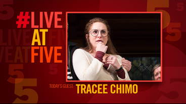 Broadway.com #LiveatFive with Noises Off's Tracee Chimo
