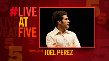 Broadway.com #LiveatFive with Fun Home's Joel Perez