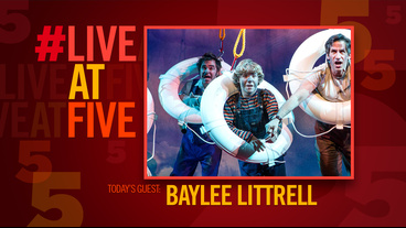 Broadway.com #LiveatFive with Disaster's Baylee Littrell