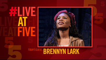 Broadway.com #LiveatFive with Les Miserables' Brennyn Lark
