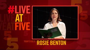 Broadway.com #LiveatFive with Curious Incident's Rosie Benton
