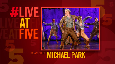Broadway.com #LiveatFive with Tuck Everlasting's Michael Park