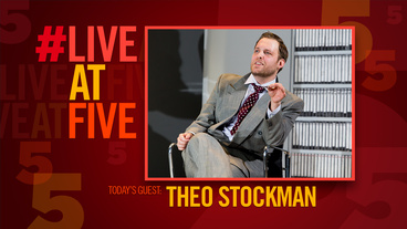 Broadway.com #LiveatFive with American Psycho's Theo Stockman