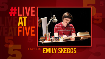 Broadway.com #LiveatFive with Fun Home's Emily Skeggs