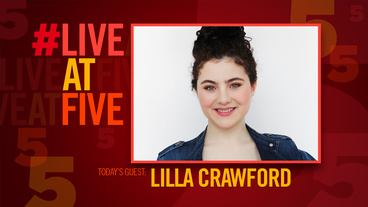 Broadway.com #LiveatFive with Lilla Crawford from <i>New York Spectacular</i>