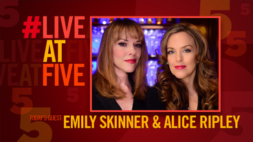 Broadway.com #LiveatFive with Alice Ripley and Emily Skinner of Unattached
