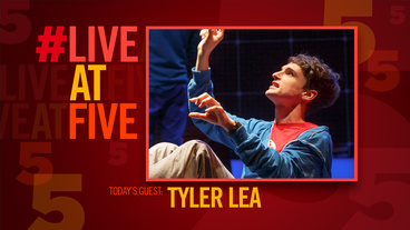Broadway.com #LiveatFive with Tyler Lea of Curious Incident