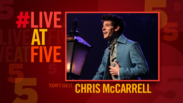 Broadway.com #LiveatFive with Chris McCarrell of Les Miserables