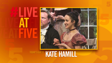 Broadway.com #LiveatFive with Kate Hamill of Sense and Sensibility