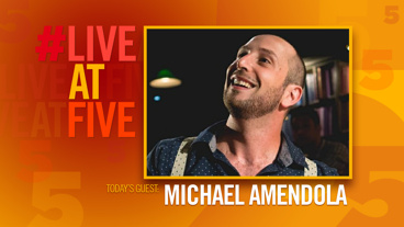 Broadway.com #LiveatFive with Michael Amendola of Drunk Shakespeare
