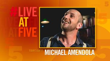 Broadway.com #LiveatFive with Michael Amendola of <i>Drunk Shakespeare</i>