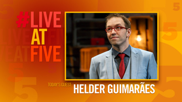 Broadway.com #LiveatFive with Helder Guimaraes of <i>Verso</i>