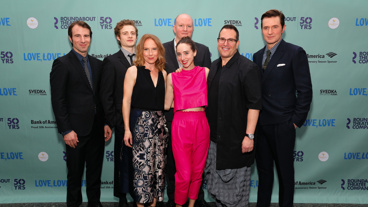 Happy opening to Alex Hurt, Ben Rosenfield, Mike Bartlett, Michael Mayer, Richard Armitage, Amy Ryan and Zoe Kazan! Catch Love, Love, Love through December 18!