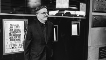 What's more Broadway than Nathan Lane in front of Sardi's?