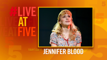 Broadway.com #LiveatFive with Jennifer Blood of Matilda