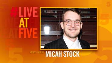 Broadway.com #LiveatFive with Micah Stock of The Front Page
