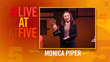 Broadway.com #LiveatFive with Monica Piper of Not That Jewish
