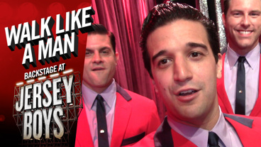 Walk Like a Man: Backstage at Jersey Boys with Mark Ballas, Episode 4: Hanging with the Stars