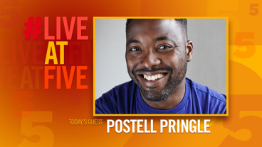 Broadway.com #LiveatFive with Postell Pringle of <i>Othello: The Remix</i>