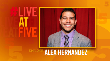 Broadway.com #LiveatFive with Alex Hernandez of Kingdom Come