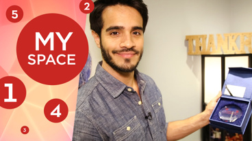 On Your Feet! Star Ektor Rivera's Dressing Room Features His Minibar, Masterpieces & More