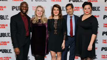 Congrats to Cheryl Strayed and the cast of Tiny Beautiful Things, including Phillip James Brannon, Nia Vardalos, Alfredo Narciso and Natalie Woolams-Torres, on their off-Broadway opening! See the searing play through December 31.