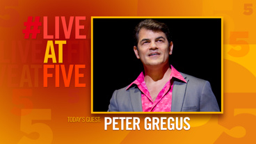 Broadway.com #LiveatFive with Peter Gregus of Jersey Boys