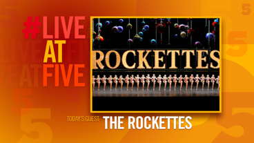Broadway.com #LiveatFive with The Radio City Rockettes of Christmas Spectacular
