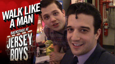 Walk Like a Man: Backstage at Jersey Boys with Mark Ballas, Episode 7: Chilling, Swimming & Caroling!