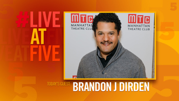 Broadway.com #LiveatFive with Brandon J. Dirden of Jitney