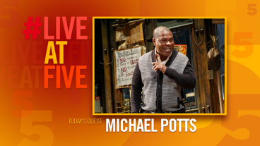 Broadway.com #LiveatFive with Michael Potts of Jitney