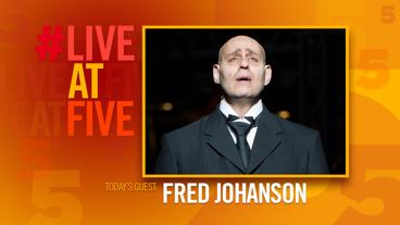Broadway.com #LiveatFive with Fred Johanson of Sunset Boulevard