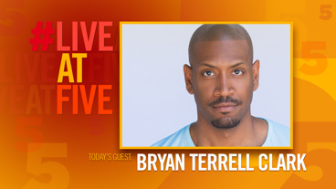 Broadway.com #LiveatFive with Bryan Terrell Clark of Hamilton
