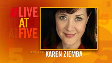 Broadway.com #LiveatFive with Karen Ziemba of <i>Kid Victory</i>