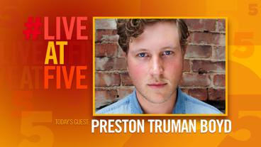 Broadway.com #LiveatFive with Preston Truman Boyd of Sunset Boulevard
