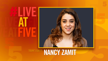 Broadway.com #LiveatFive with Nancy Zamit of The Play That Goes Wrong
