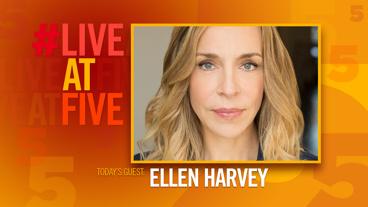 Broadway.com #LiveatFive with Ellen Harvey of Present Laughter