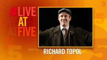 Broadway.com #LiveatFive with Richard Topol of Indecent