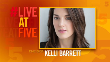 Broadway.com #LiveatFive with Kelli Barrett