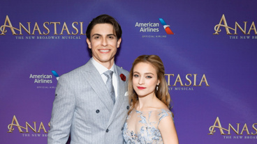 Happy opening to Anastasia's Derek Klena and Christy Altomare!
