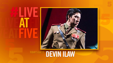 Broadway.com #LiveatFive with Devin Ilaw of Miss Saigon