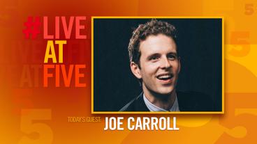 Broadway.com #LiveatFive with Joe Carroll of Bandstand