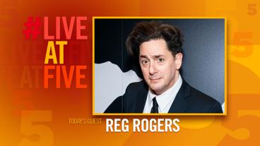 Broadway.com #LiveatFive with Reg Rogers of Present Laughter