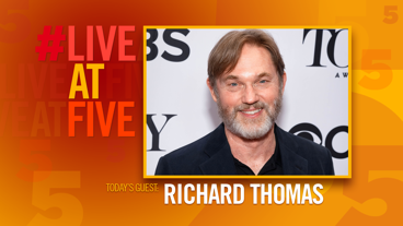 Broadway.com #LiveatFive with Richard Thomas of <i>The Little Foxes</i>