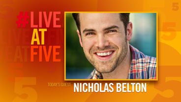 Broadway.com #LiveatFive with Nicholas Belton of The Great Comet