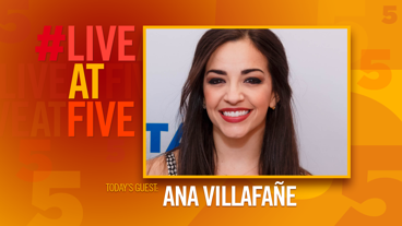 Broadway.com #LiveatFive with Ana Villafane of On Your Feet!