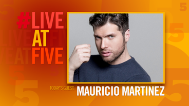 Broadway.com #LiveatFive with Mauricio Martinez of On Your Feet!