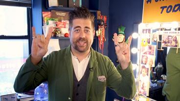 The Broadway.com Show: School of Rock Star Eric Petersen Shows Off His Dressing Room